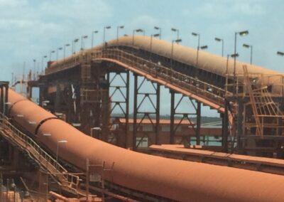 Bauxite Mining Weipa Australia