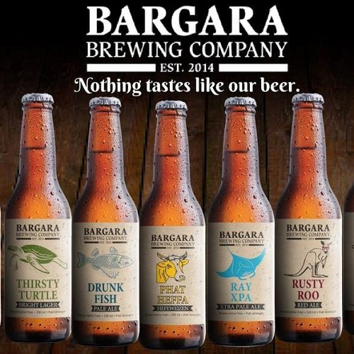 Beer made in Bargara Bundaberg
