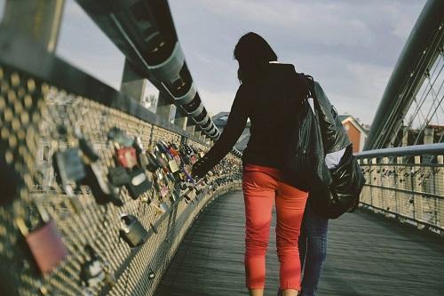 Tumski Bridge of Locks