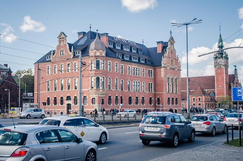 Gdansk Hotel near railway station