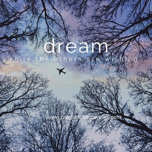 Dream while the others are wishing