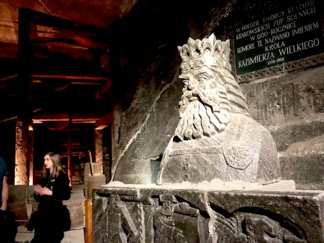 Krakow Salt Mines Sculptures