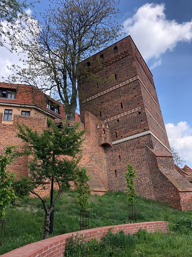 Leaning Tower Torun Poland