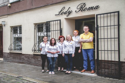 Lody Roma Wroclaw Ice Creamery