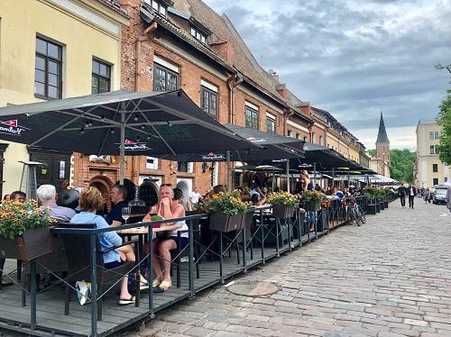 Kaunas Long Pedestrian Street