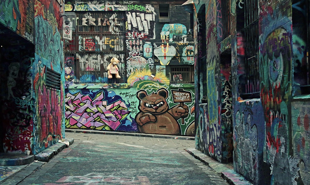 street graffiti Melbourne