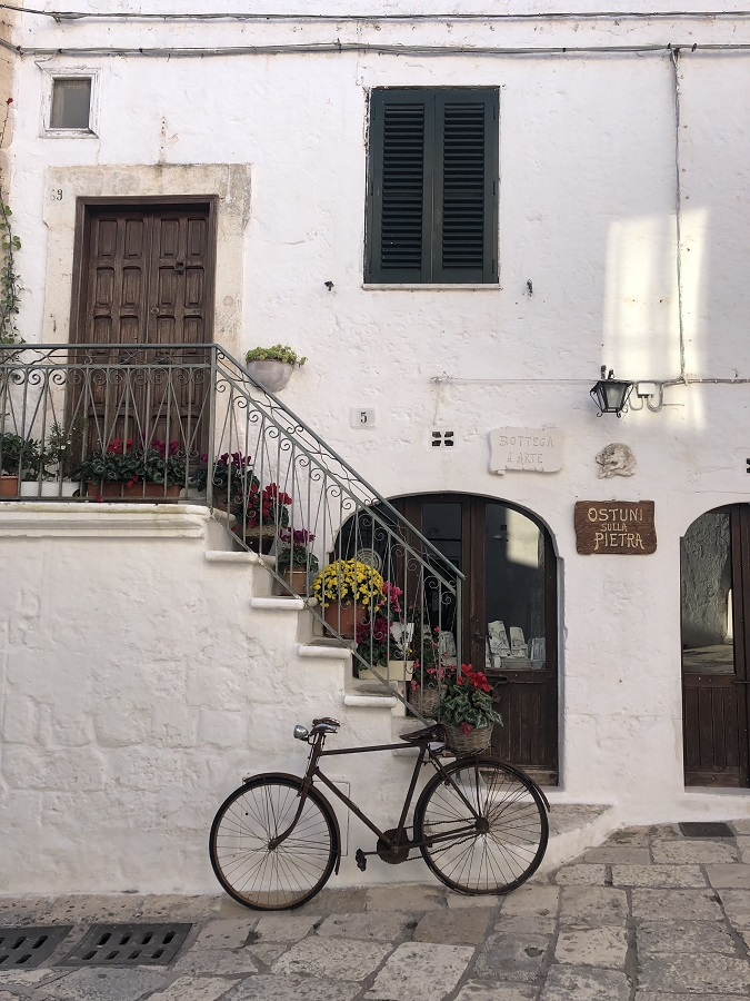 old town Ostuni Italy