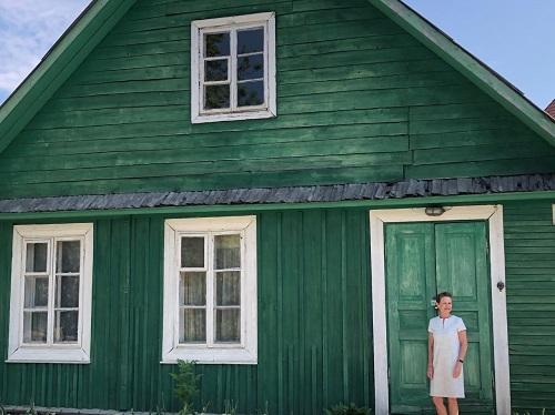 Trakai Colourful Houses