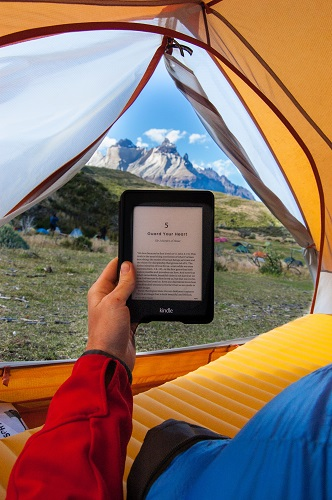 Travelling with an eBook