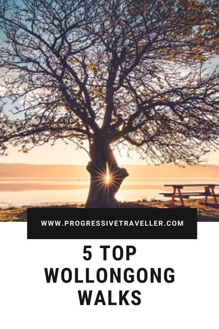 Wollongong coastal walks