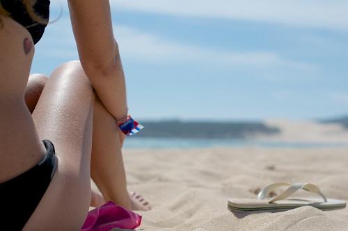 Woman on Wollongong Beach