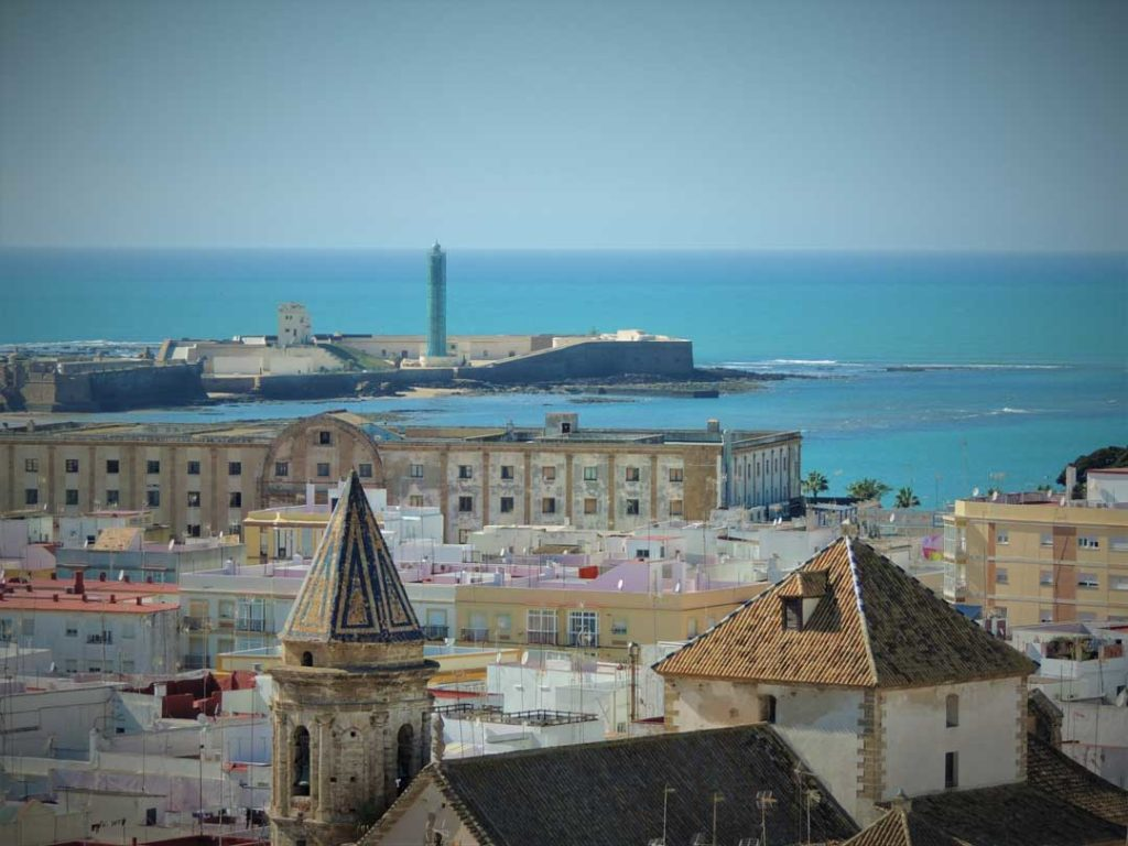 View from Tower in Cadiz