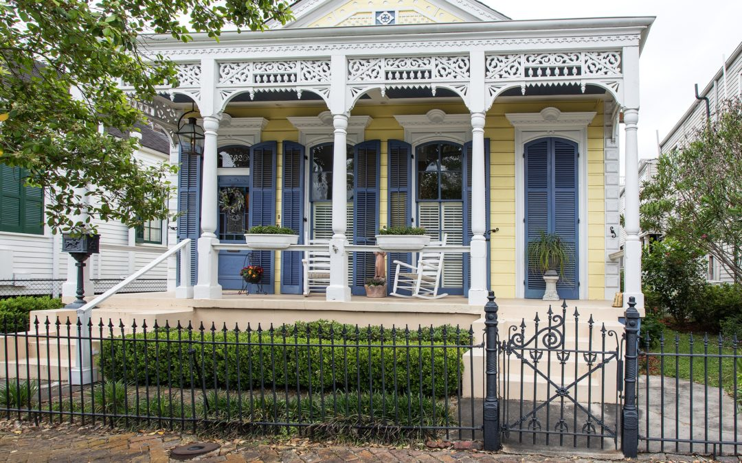 New Orleans 'Shotgun' House Tour
