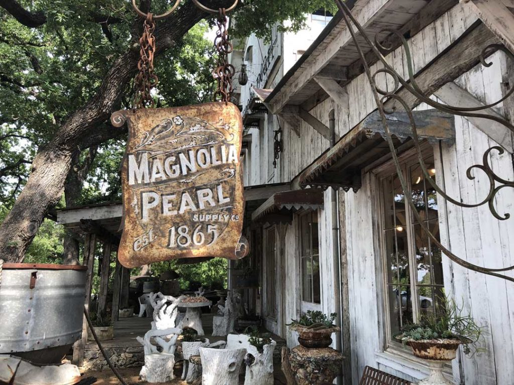 Magnolia Pearl Sign 4