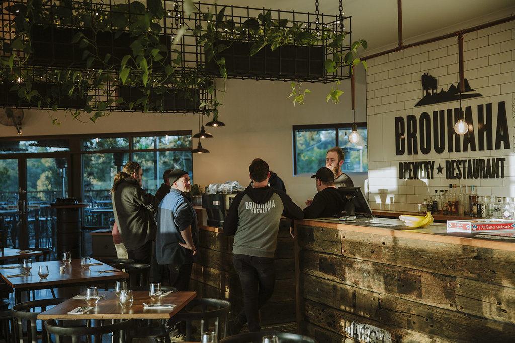 Brouhaha Brewery Interior