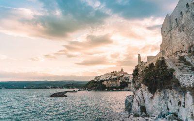 Vieste Italy Sunset