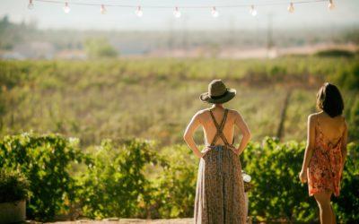 Women at Fredericksburg winery