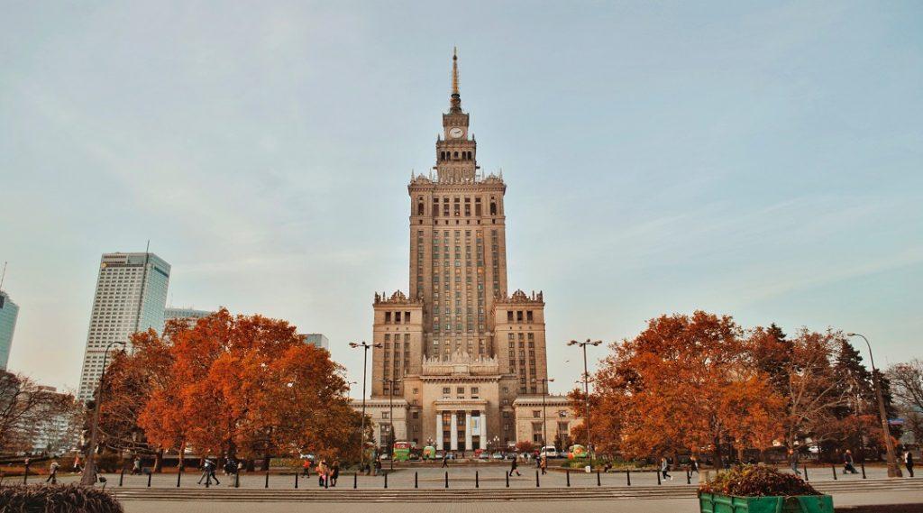Centrum Warsaw Poland