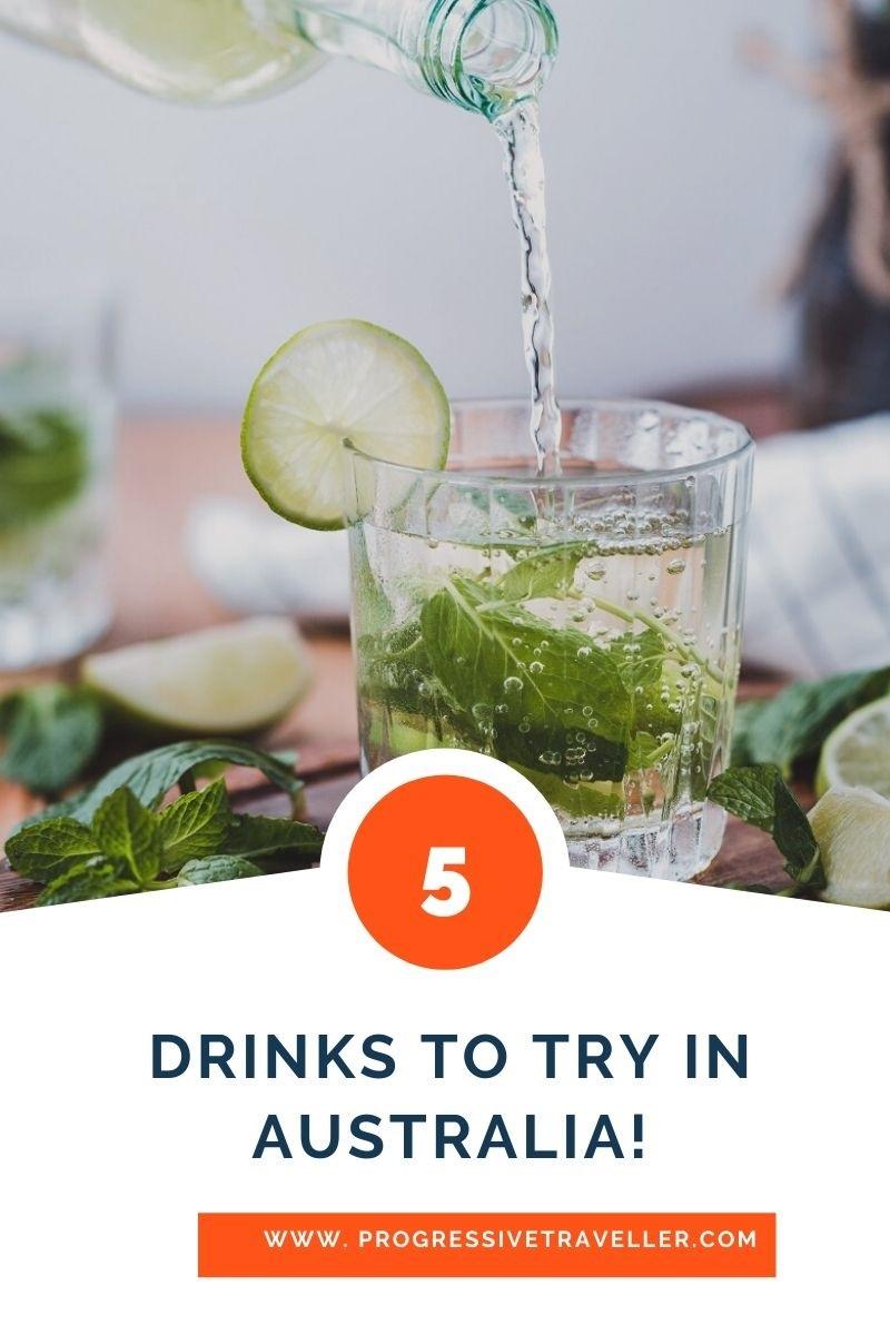 Alcoholic Drinks in Australia