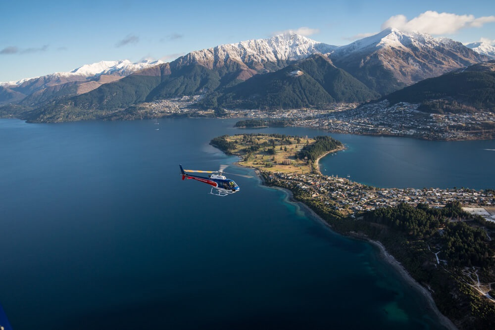Helicopter Wine Tours New Zealand