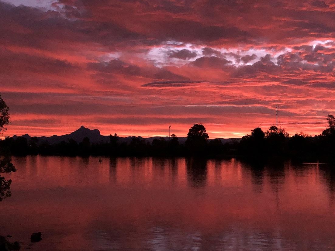 Mount Warning Sunset