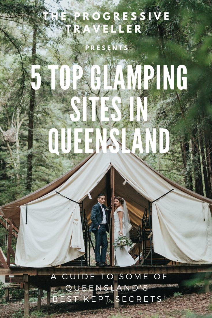 top glamping sites in Qld