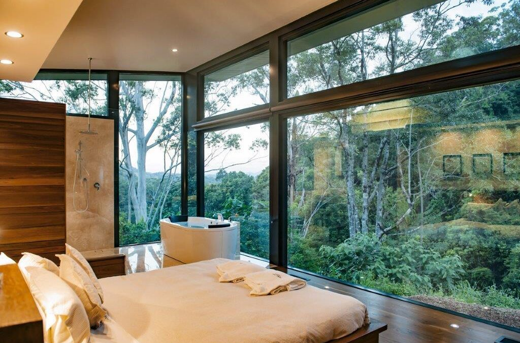 Tweed Valley Romantic Getaway | Crystal Creek Rainforest Retreat NSW